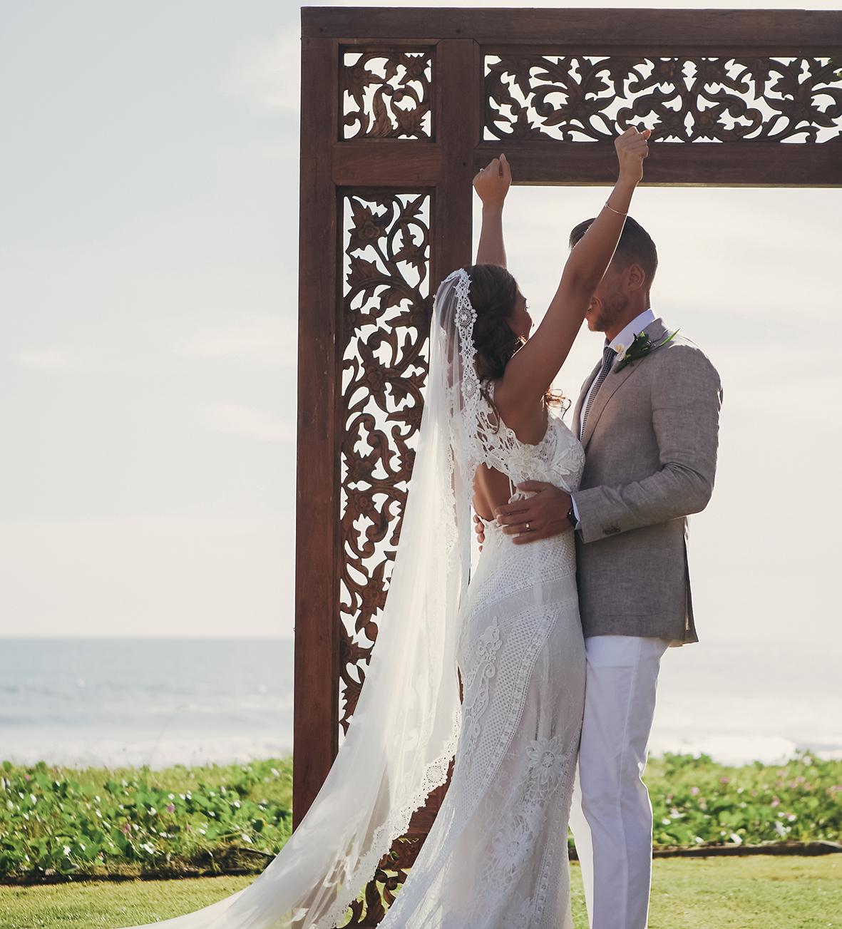wedding decor in Bali