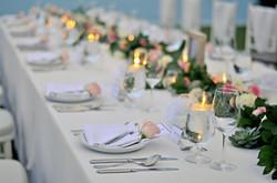 wedding table decor bali