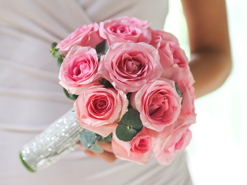 Glamour bridesmaid's bouquet