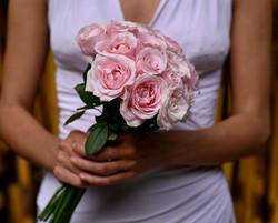 Pastel bridesmaid's bouqet