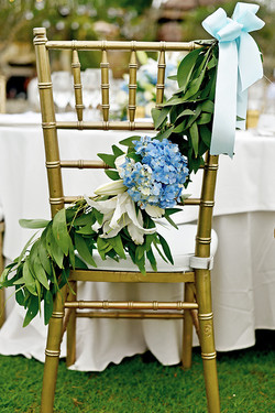 wedding chair decoration