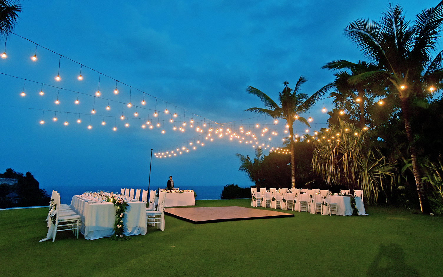 wedding decor lighting bali