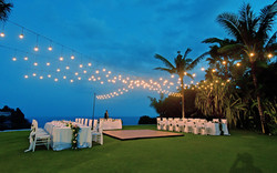 wedding decor lighting bali