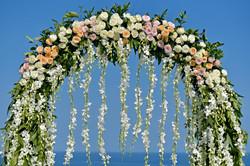 wedding arch bali