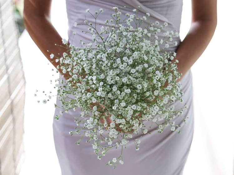 baby's breath wedding flower bali