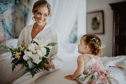 bridal bouquet in Bali