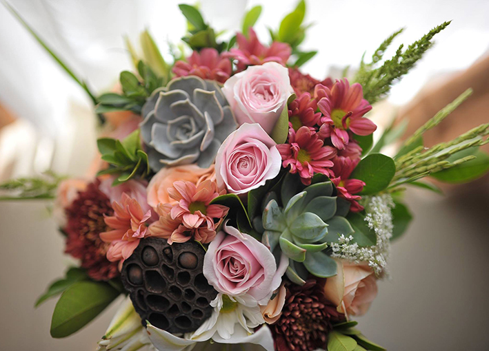 wedding bouquet bali