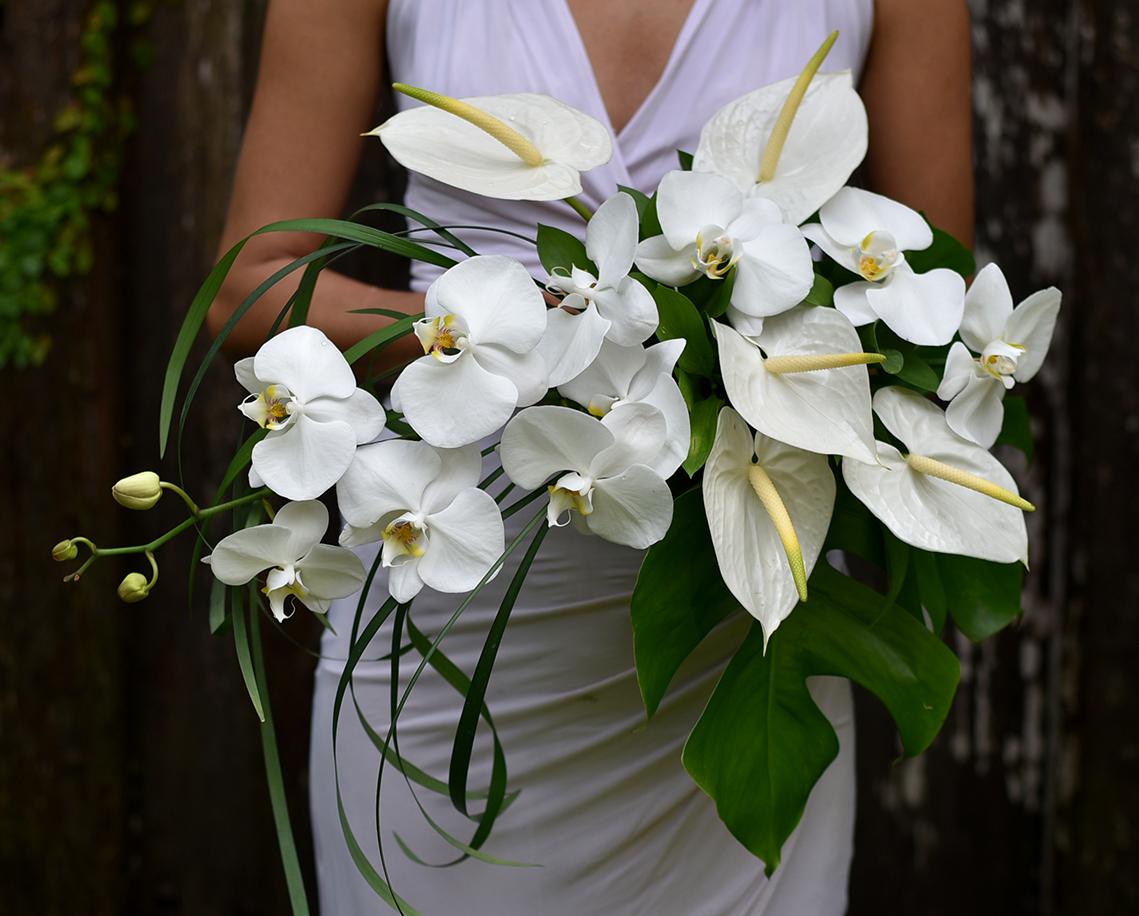 'Tropical Elegance' bridal