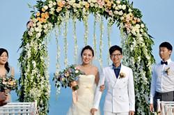 Chinese wedding couple bali