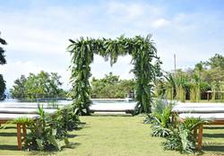 wedding ceremony decor in Bali