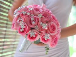 Glamour bridal bouquet