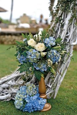 wedding decoration by Flower Corner
