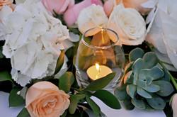 romantic wedding decor bali