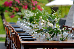 wedding table decor Bali