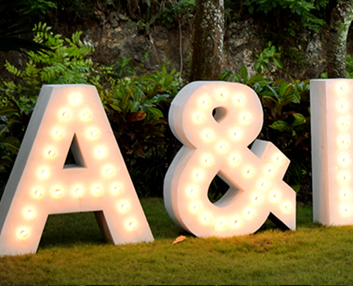Lighting Initials - L3