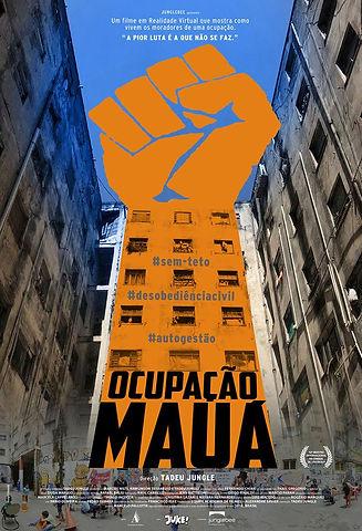Poster Ocupação Mauá