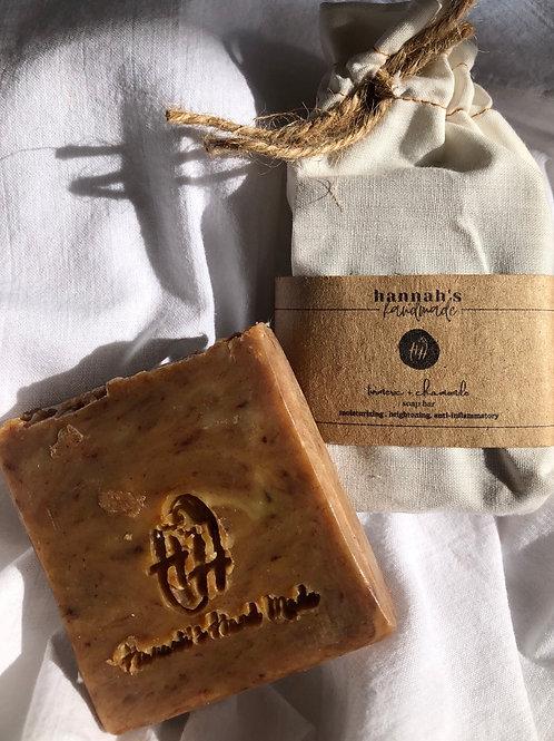 Turmeric + Chamomile Soap Bar