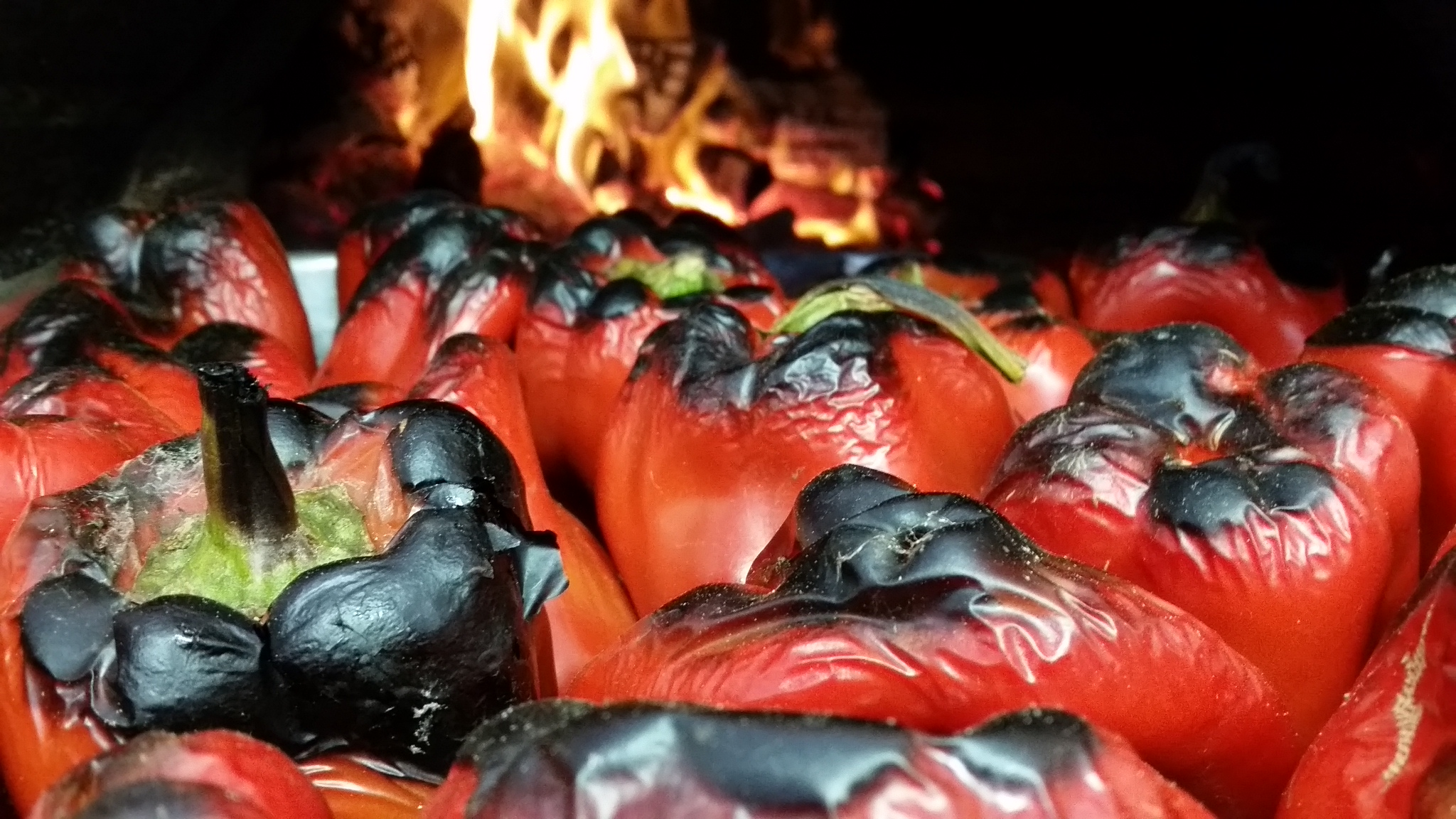 House roasted capsicums!