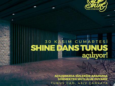 Shine Dans Yeni Adresinde !