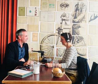 Interviewtricks aus dem Goldmund - Ein Gespräch mit Podcastern Brigitte Hagedorn