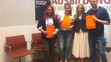 Absolventen an der Akademie Deutsche Pop - Glückwunsch!
