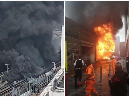 London fire: Major blaze breaks out near Elephant and Castle