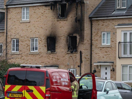 Two children die in house fire in St Neots