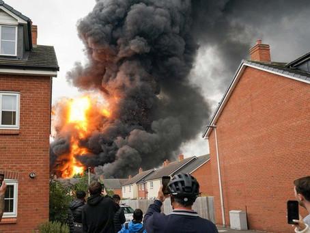 Evacuations amid 'explosions'