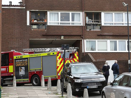 Two dead in London house fires