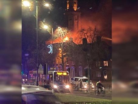 Banbury fire: Crews tackle blaze at nursery