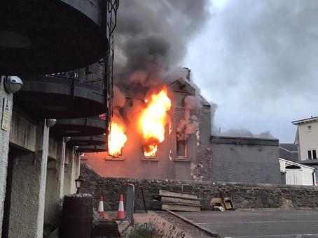 Fire crews tackle blaze at Nick Nairn restaurant