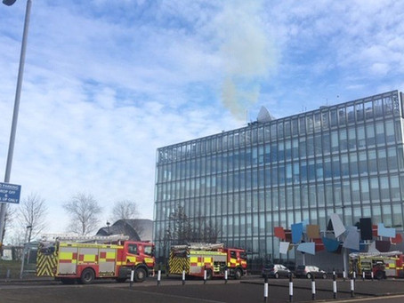 BBC Scotland headquarters evacuated due to fire