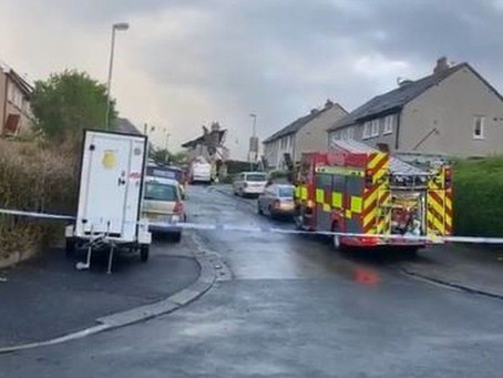 Child dies and four adults injured in Lancashire explosion
