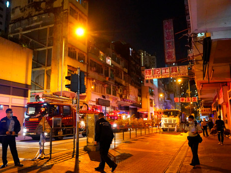 Fire in Hong Kong Apartment Building Kills Seven & Injures 11