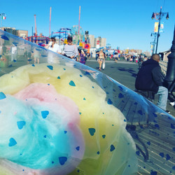 Cotton Candy on the Boardwalk