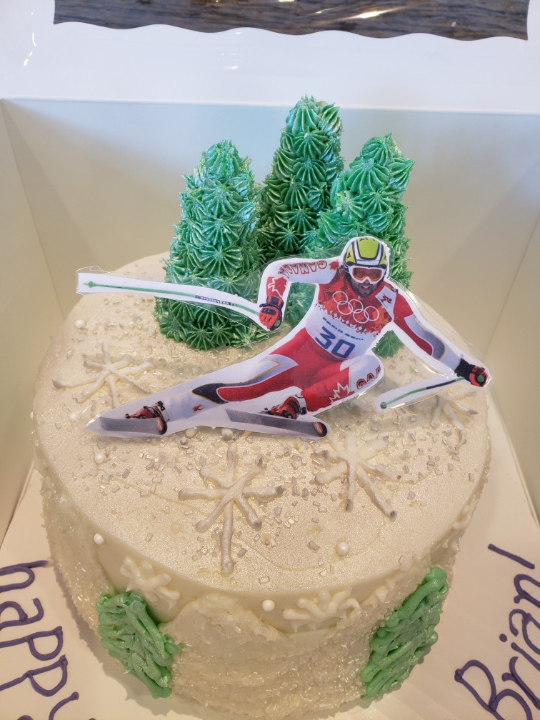 Ski Gourmet Cake - 39