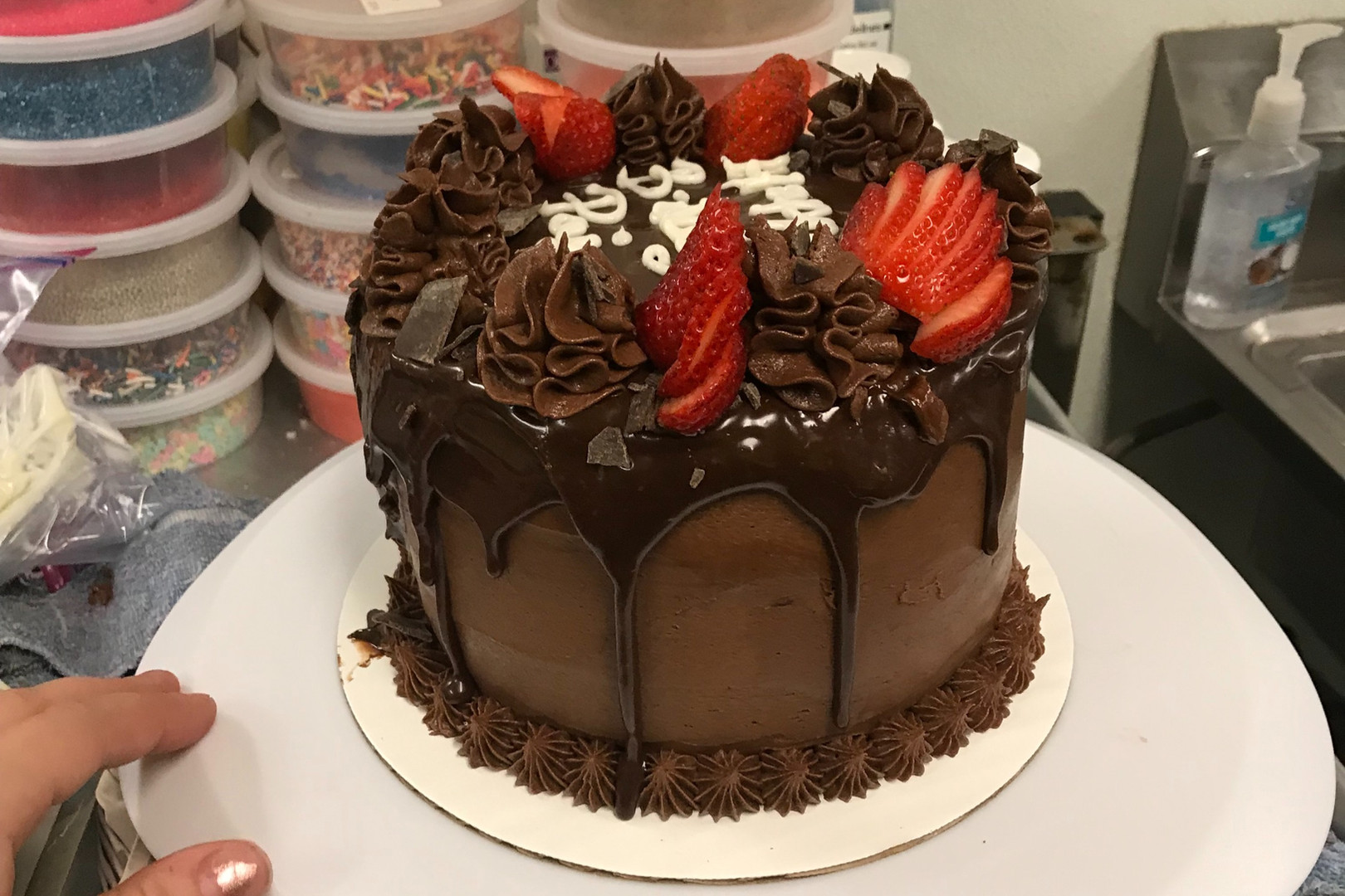Chocolate Strawberry Cake - 2