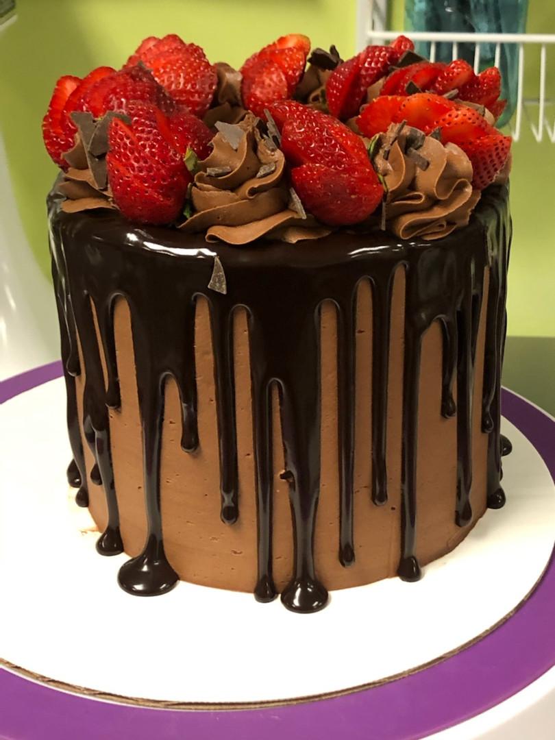 Chocolate Strawberry Cake - 52