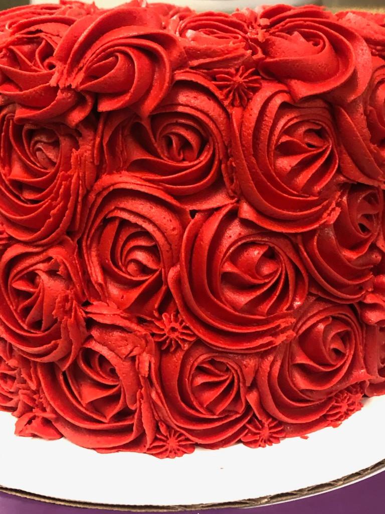 Rose Bud Cake - 50