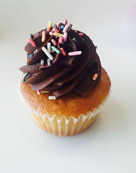 a delicious locally made cupcake