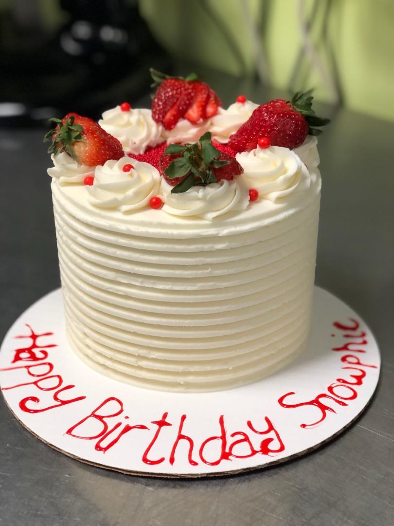 Fruit Birthday Cake - 28