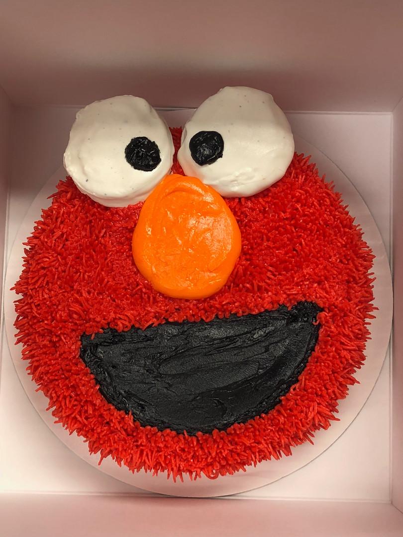 Elmo Cake - 10