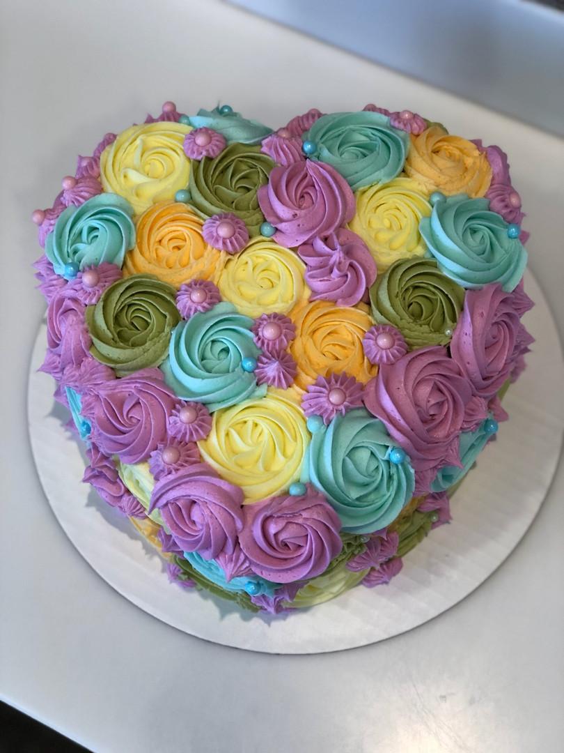 Heart Cake - 48