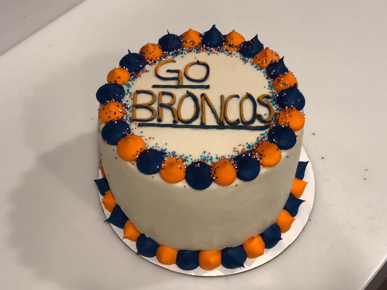 Broncos Cake - 14