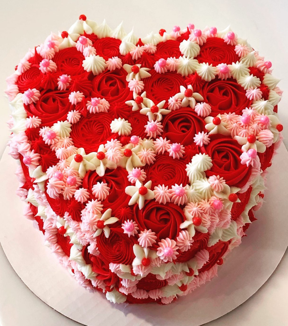 Heart Cake - 32