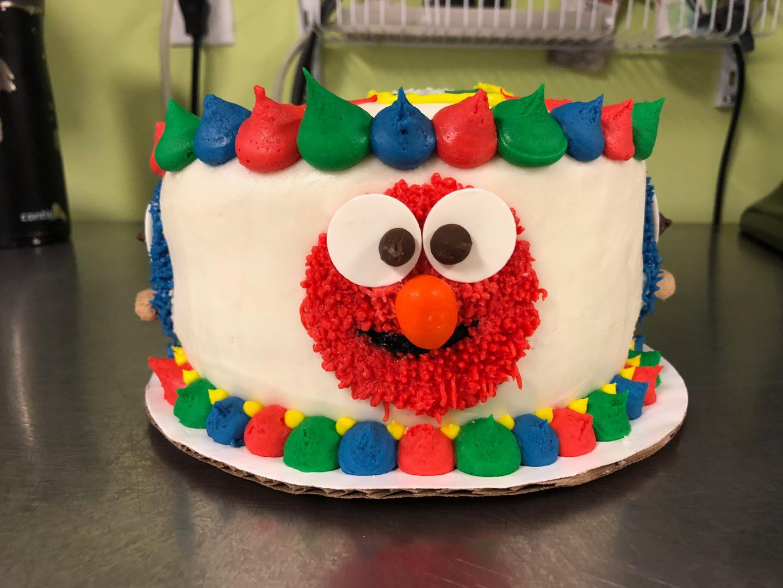 Elmo Cake - 3