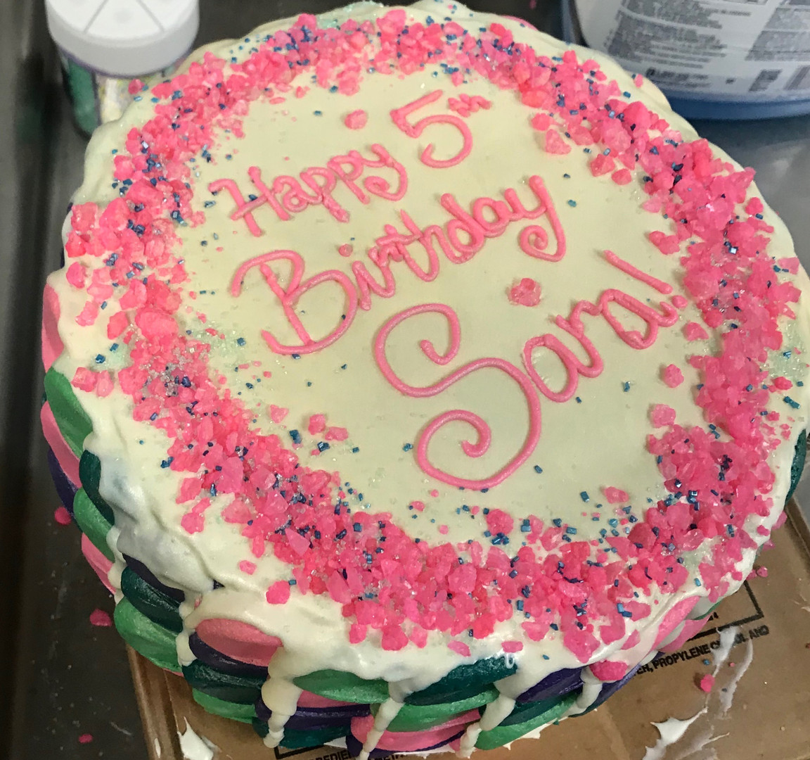 Gourmet Birthday Cake - 17