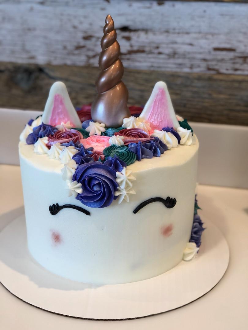 Unicorn Birthday Cake - 61