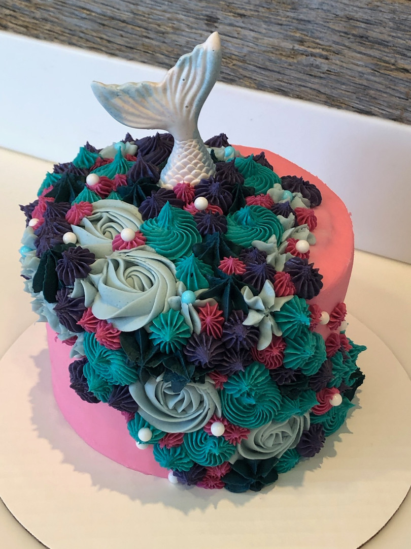 Mermaid Cake - 36