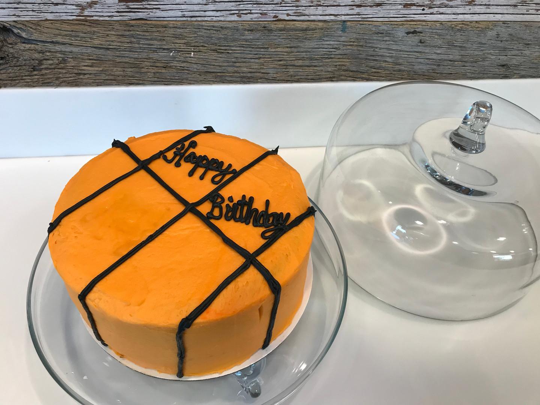 Basketball Cake - 5